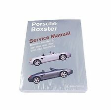 Porsche Repair Manual Boxster Boxster S 1997 - 2004 Bentley
