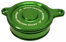 Apico Oil Filter Cover KAWASAKI KX450F 06-15, KLX450 08-15 GREEN