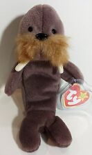 "TY Beanie Babies ""JOLLY"" the WALRUS - MWMTs! CHECK OUT MY BEANIES & SAVE $$$"