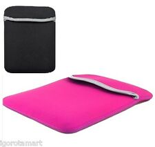 "Brand New Pink Reversible 17.3"" Laptop Cover Case NoteBook Bag For APPLE MACBOOK"