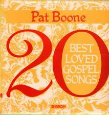 Pat Boone(Vinyl LP)20 Best Loved Gospel Songs-Sharon-Sharon 322-UK-Ex/VG