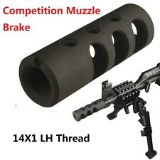 14x1 Left Hand Thread Competition Muzzle Brake for 7.62x39