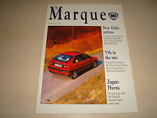 LANCIA THE MARQUE MAGAZINE - DATED SPRING 1993 ENGLISH TEXT