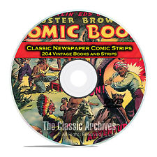 Classic Newspaper Comic Strips, Buster Brown, Nemo, Golden Age Comics DVD D15