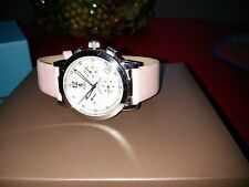 WATCH by BIRKS Lady Chrono Pink Strapped  IN BIRKS BROWN & BLUE BOXES