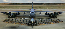 """B-52 BOMBER MILITARY AIR FORCE 19.5"""" x 43""""  LARGE HD WALL POSTER PRINT"""