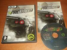 Need FOR SPEED PROSTREET/PRO STREET-PC-DVD Post veloce
