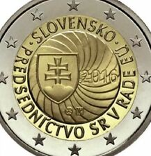 Slovakia 2 Euro Coin 2016 Commemorative EU presidency New BUNC from Roll
