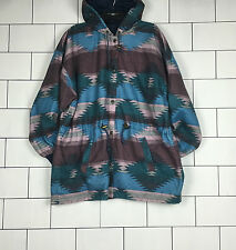 RARE VINTAGE RETRO AZTEC URBAN TRIBAL NAVAJO OVERSIZED FESTIVAL JACKET COAT #16