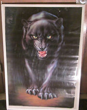 BLACK PANTHER RARE SEALED POSTER 1997 ANIMAL KINGDOM