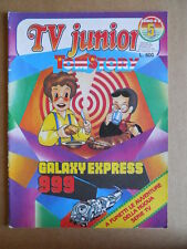 TV JUNIOR n°5  1982 Galaxy Express 1999 Bia Tom Story  ed. ERI RAI  [G419A]