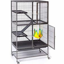 Large Ferret Cage Small Pet Chinchilla Rabbit Hamster Guinea Rat Metal House New