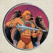 He-man Patch Picture Embroidered Border Masters of the Universe I Have the Power