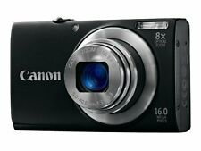 Canon PowerShot A4000 IS 16.0 MP Digital Camera - Black New! FREE SHIPPING