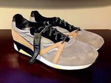 Brand New Diadora N9000 and New T-shirt 24K Sombra Size US 12.5 Made in Italy