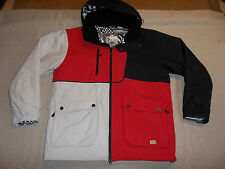BODY GLOVE JACKET SKI SNOW INSULATED HOOD WATERPROOF BLACK RED MEN'S M