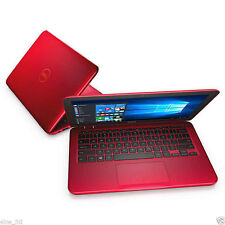 Dell Inspiron 3162-1035 Intel N3050 2GB 32GB Windows 10 11.6 Red Laptop