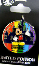 Cast Exclusive DLR Cast Member Mickey Mouse Rainbow LE Pin