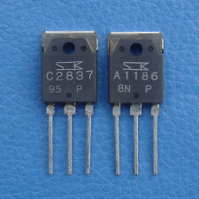 2SA1186 & 2SC2837 SANKEN Audio Power Transistor, x 10