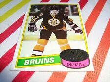 Ray Bourque 1980-81 Topps #140 Rookie Card EX+ Condition Boston Bruins