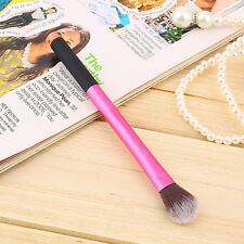 Pro Powder Blush Brush Makeup Foundation Tool Cosmetic Stipple Blending Fiber FE
