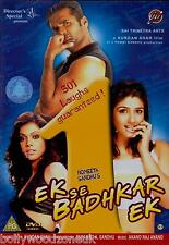 EK SE BADHKAR EK - sunil shetty - ravina tandon - BRAND NEW BOLLYWOOD DVD
