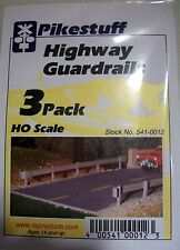 Pikestuff (HO-Scale) #541-0012 Highway Guard Rails (3-pack) - NIB