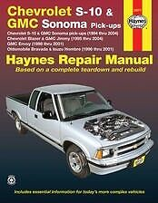 94-04 Chevy S10 Blazer Jimmy Bravada Shop Service Repair Manual book NEW owners