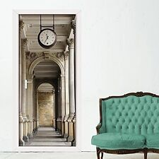 Walplus 200x86 Cm Wall Stickers Passageway Door Removable Self-Adhesive Mural