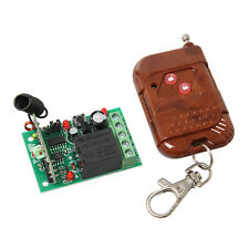Single Channel Wireless Relay module with remote controller RF receiver wireless