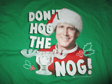 "Christmas Vacation CHEVY CHASE ""Don't HOG the NOG!"" (XL) T-Shirt"