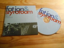 CD Indie Fat Jon / Styrofoam - The Same Channel (10 Song) Promo MORR REC / cb