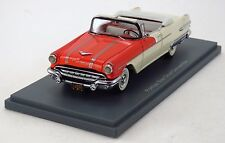 NEO SCALE MODELS 44061 - Pontiac Star Chief Covertible 1956 (Beije / Red) - 1/43
