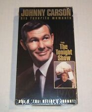 Johnny Carson, The Tonight Show, His Favorite Moments, Vol. 1, 60's & 70's, VHS