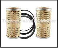 (2) Oil Filter Cartridges for 1946-1954 Chrysler