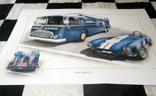 AC COBRA AND CARROLL SHELBY TRANSPORTER THE BEST YET DAYTONA LE MANS 24 HOURS