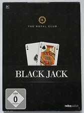 BLACK Jack The Royal Club PC GIOCO GAME PC CD-ROM Gioco di carte per computer