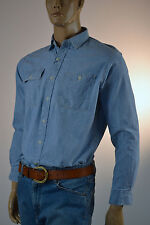 Ralph Lauren  Chambray Denim Shirt / 2 Buttoned Pockets on Chest-Small-NWT