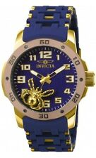 New Mens Invicta 80112 Sea Spider Polyurethane Bracelet Watch