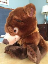 "Disney Store Exclusive 14"" Brother Bear Floppy KODA Cub Soft Plush Authentic"