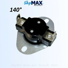 140 Degrees Fahrenheit Water Overheat Thermostat for DC water heater element