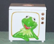 RARE KERMIT ON T V COOKIE JAR BY SIGMA THE TASTESETTER EXCELLENT CONDITION