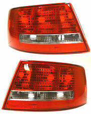 Audi A6 4F2 C6 2004-2008 Saloon Rear Tail Signal Lights Lamp Left+Right NO LED