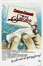"UP IN SMOKE Movie Silk Fabric Poster Cheech and Chong 24""x36"""