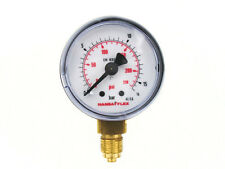 ø 40mm Manometer 0-16 Bar Thread G 1/8-inch Hansa Flex Pressure gauge below