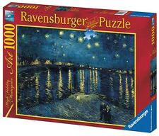 RAVENSBURGER 15614 STARRY NIGHT OVER RHONE VAN GOGH 1000 PIECES PUZZLE JIGSAW