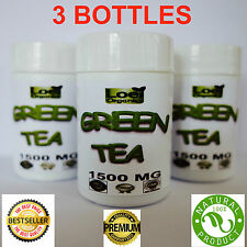 3 Green Tea Capsules  HIGH STRENGTH Fat Burner Weight Loss Supplement DIET PILLS