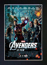 MARVEL THE AVENGERS Quality Reproduction Autograph Signed Photo Print (A4) No