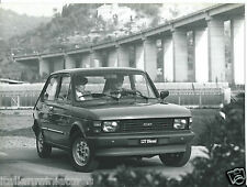 Fiat 127 diesel press photo circa 1980 très grand pont