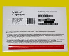Microsoft Windows 10 Pro 64Bit System Builder OEM FQC-08930 Sealed + DVD & PC**